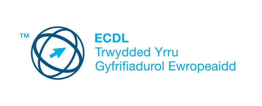 Logo ECDL Trwydded Yrru Gyfrifiadurol Ewropeaidd
