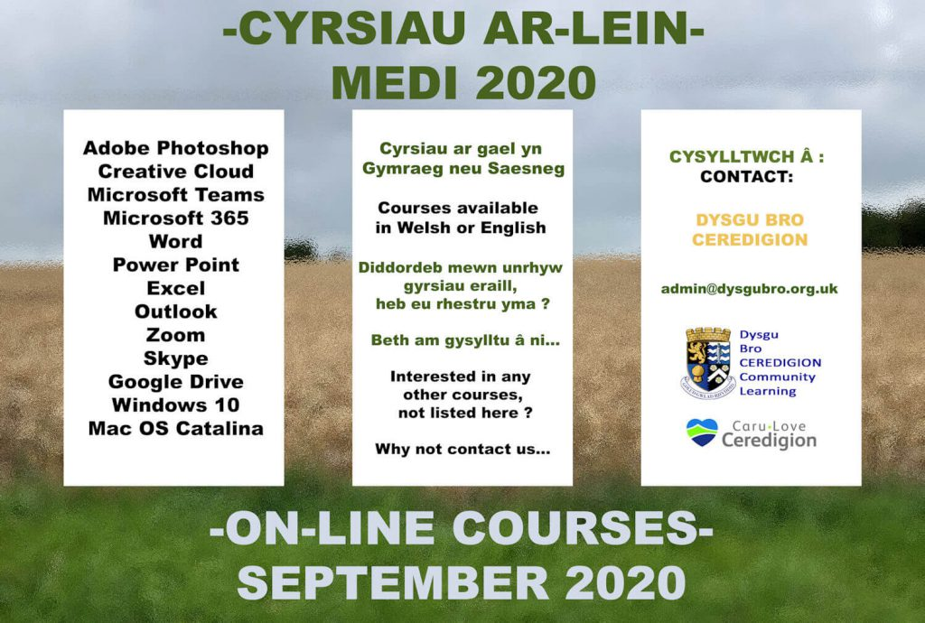 On-line Courses September 2020 Poster
